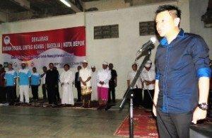 Ketua DPRD Depok Hendrik Tangke Allo