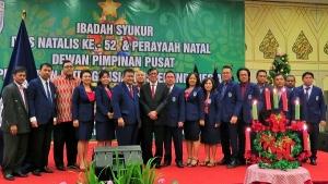 Menteri Hukum dan HAM Yasonna Laoly Berfoto Bersama dengan Pengurus DPP PIKI