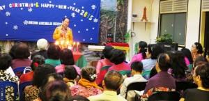 Ibadah Natal PD Oikumene Tebet: Berkat Tuhan, PD Oikumene Solid