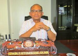 Edwin Pamimpin Situmorang :Tidak Sekedar Nyaleg, Namun Mendidik dan Menyadarkan Masyarakat