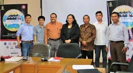 LPPD DKI Gelar Jakarta Gospel Band