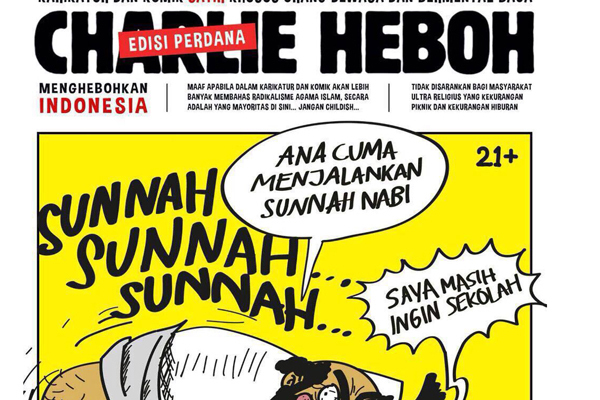 """Melecehkan Agama, """"Charlie Heboh"""" Menghebohkan Jakarta"""