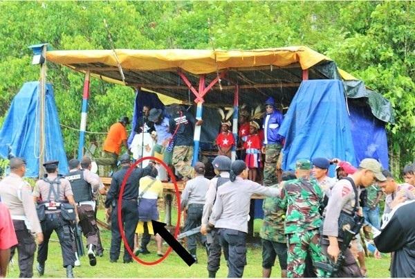 Ibadah Gerakan Pembebasan Papua Berujung Ricuh