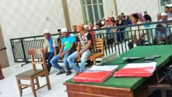 Terdakwa Pembakar Gereja di Aceh Singkil Dituntut Enam Bulan Penjara