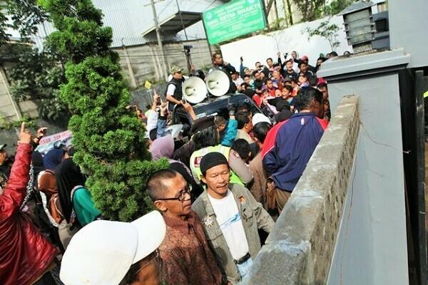 Massa Berdemo, Peresmian Gereja GBKP Bandung Timur Batal, Ini Kronologisnya
