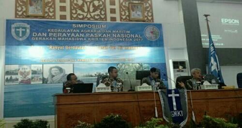 Simposium GMKI Bahas Kedaulatan Agraria dan Maritim