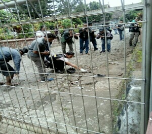 POLISI TANGKAP PELAKU TEROR GEREJA SANTO YUSUF