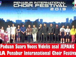 Paduan Suara VOCES FIDELIS Asal JEPANG JUARA PENABUR International Choir Festival 2019
