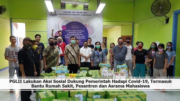 PGLII Lakukan Aksi Sosial Dukung Pemerintah Hadapi Covid-19, Termasuk Bantu Rumah Sakit dan Pesantren