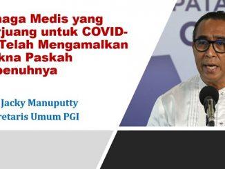 Tenaga Medis yang Berjuang untuk COVID-19 Telah Mengamalkan Makna Paskah Sepenuhnya