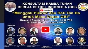 """BPD GBI DKI Gelar Diskusi """"Menggali Pikiran dan Hati Om Ho Untuk Masa Depan GBI"""""""
