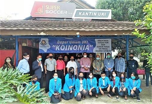 Kampus UKI Buka Dapur Umum KOINONIA Untuk Mahasiswa Ditengah Pandemi Covid-19