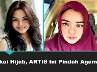 Pakai Hijab, Artis Ini Pindah Agama?