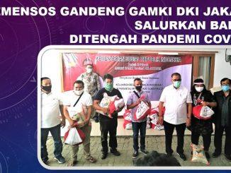 Kemensos Gandeng GAMKI DKI Jakarta Salurkan Bansos Ditengah Pandemi Covid-19