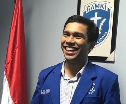 Sekum DPP GAMKI Sahat MP Sinurat