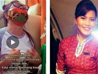Tangis Pilu Ibunda Pramugari Grislend Gloria Natalie Sinaga: BERENANG KAU NAK, MAMA TAHU KAMU KUAT