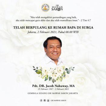 """Anak Desa Jadi Pendeta"" Tutup Usia, Selamat Jalan Pdt DR Jacob Nahuway MA"