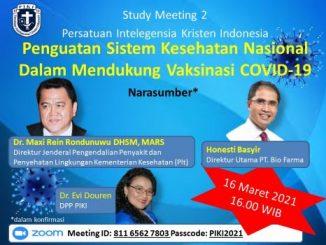 Gelar Study Meeting 2, PIKI Bahas Penguatan Sistem Kesehatan Nasional
