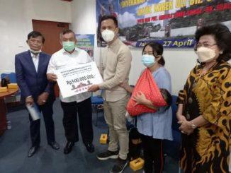 PPTSB Salurkan Bantuan Untuk 'Operasi Transplantasi Hati' Anak Pdt Andreas Jonto W Sinaga